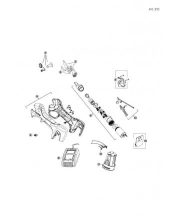 MOTOREDUCTOR PARA ART 310  FIGURA 9